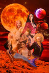 Neon Comet Cadettes poster 2 Bad Girls