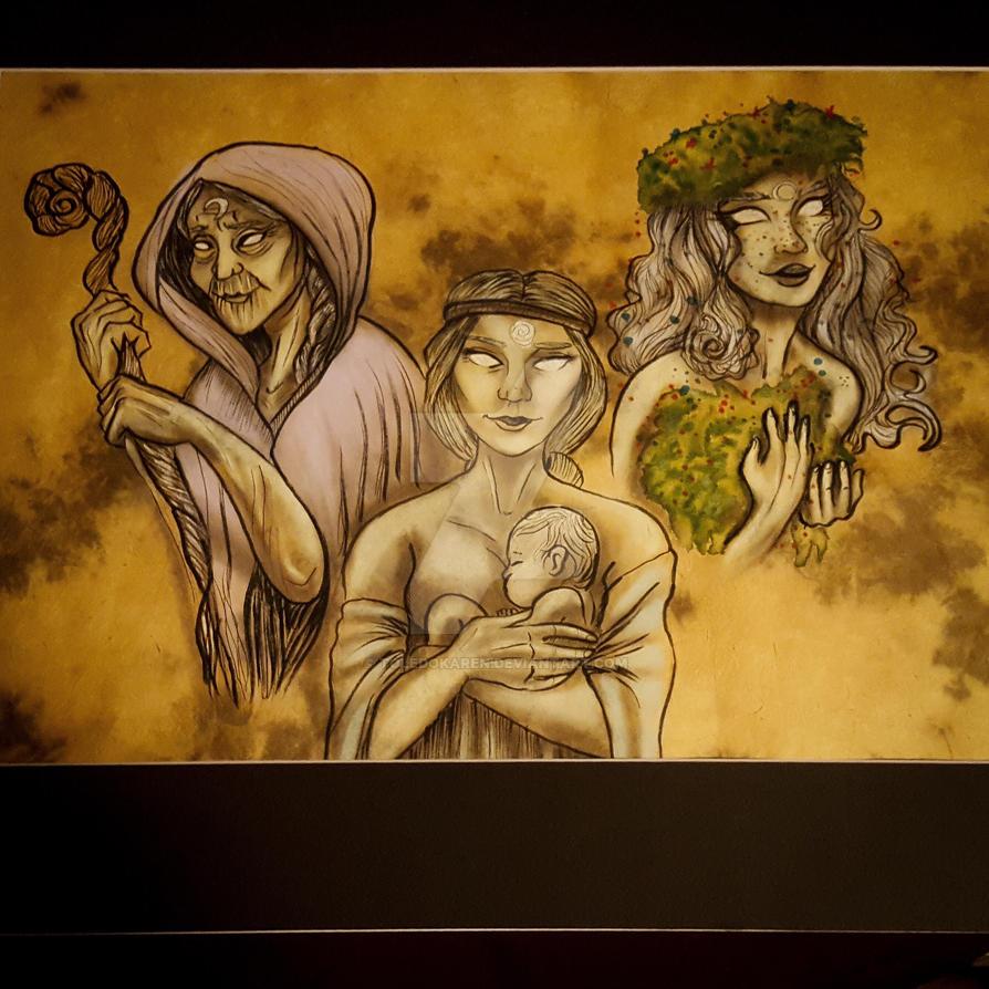 Goddesses by ToledoKaren