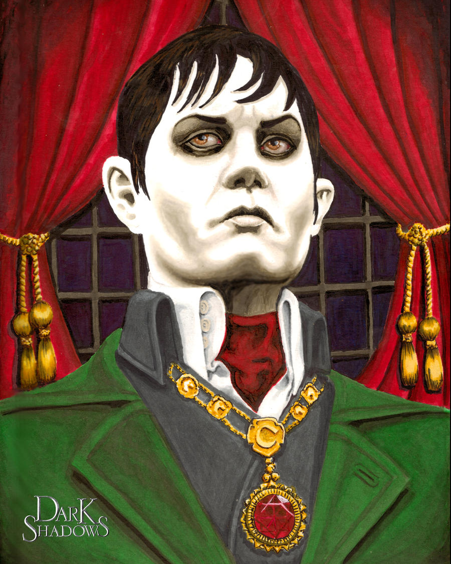 Portrait of Barnabas Collins by ShayneOtheDead