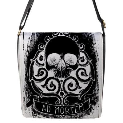 Ad Mortem Messenger bag by ShayneOtheDead