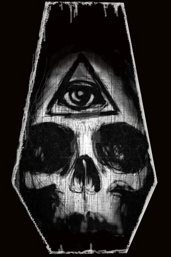 Illuminati Skull by ShayneOtheDead