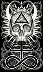 Illuminati Skull
