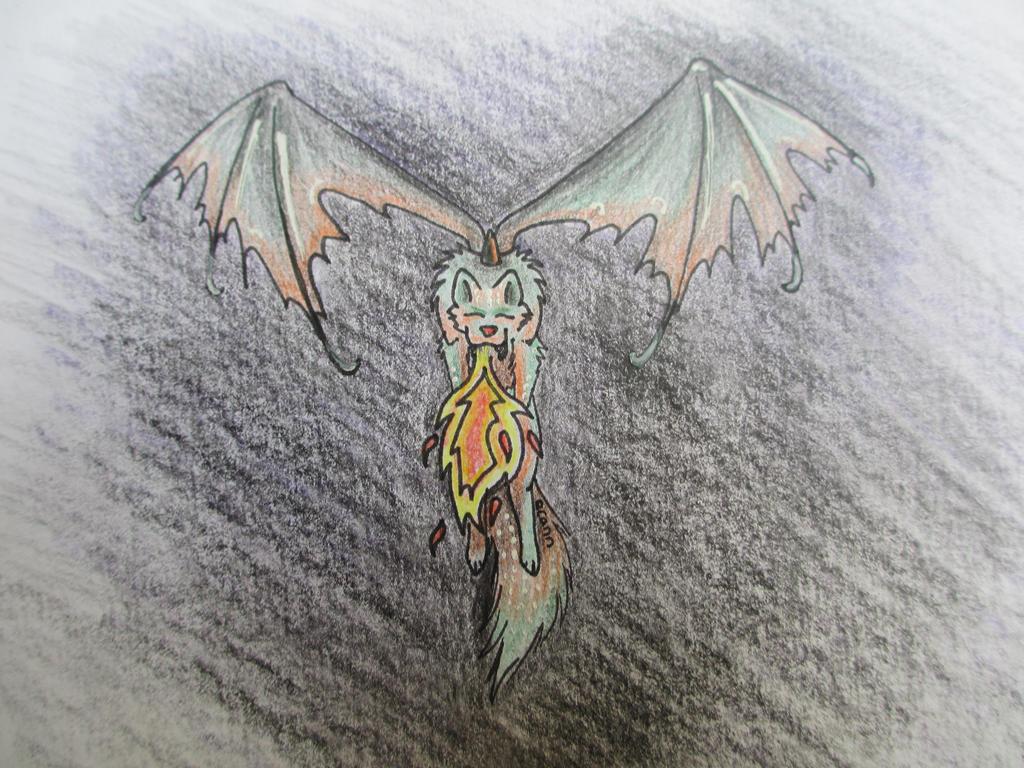 Dragon Wolf By Spiritwolfeyes