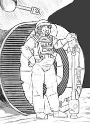 Astronaut by JimmyJamNo1