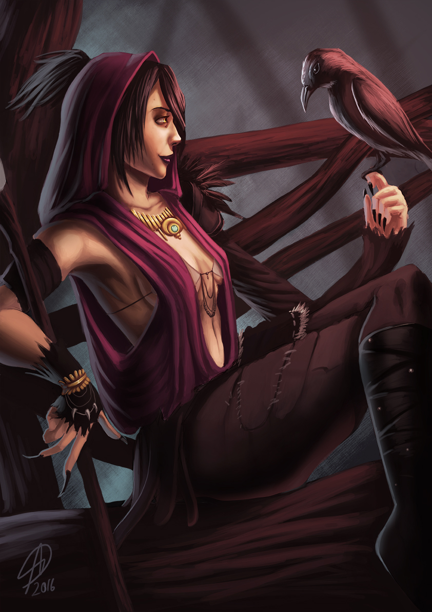 Dragon Age: Morrigan by sequentialnerd