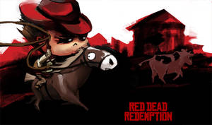 Red dead redemption fanart by VeronikaD