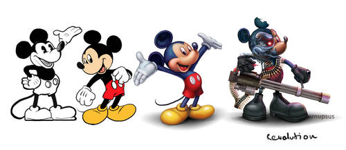 mickey mouse revolution by VeronikaD