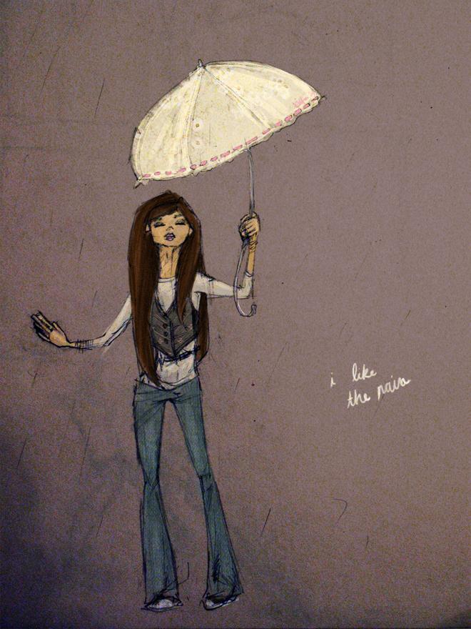 i like the rain