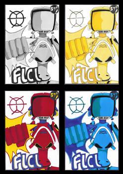 FLCL stamp