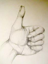 Hand Study III by drewisgenki