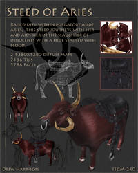 Steed of Aries by drewisgenki