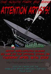 Attention South Park Fanartists!