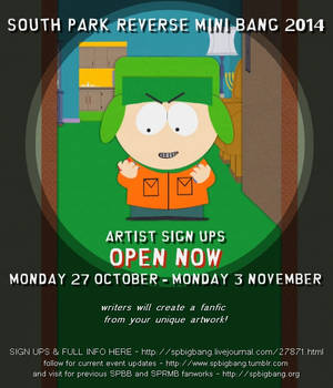 South Park Reverse MiniBang '14 Sign Ups Are Open!