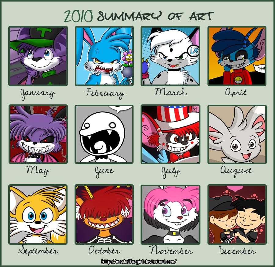 2010 Summary of Art by MeckelFoxStudio