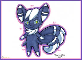 Meowstic Male by MeckelFoxStudio