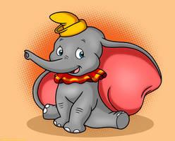 Disney's Dumbo by MeckelFoxStudio