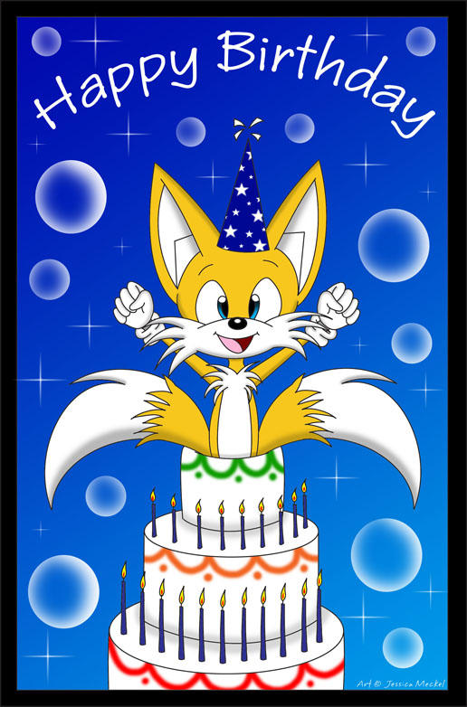 Giftart__Tails_in_the_Cake_by_MeckelFoxGirl.jpg