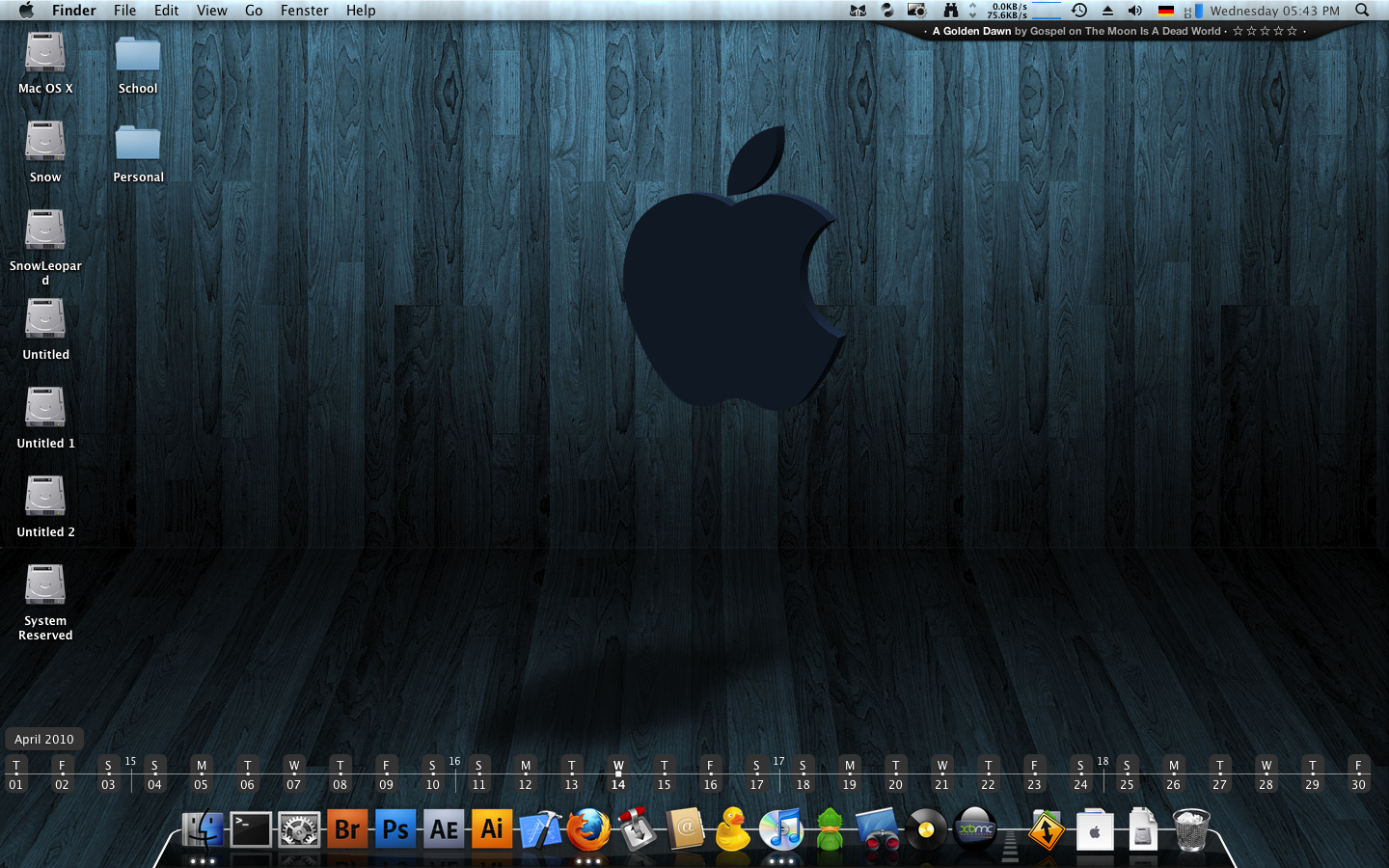Mac Os X Screenshot April 2010 By Forbore