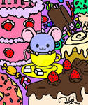 Tea Cup Mouse n' Sweets