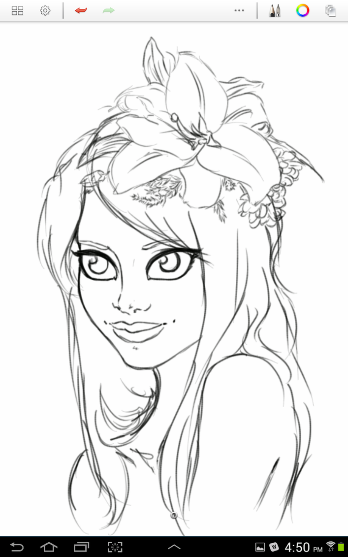 .:Flower Girl:. WIP by DaigonnaMystmoore