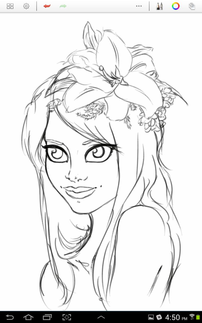 .:Flower Girl:. WIP by DaigonnaMystmoore