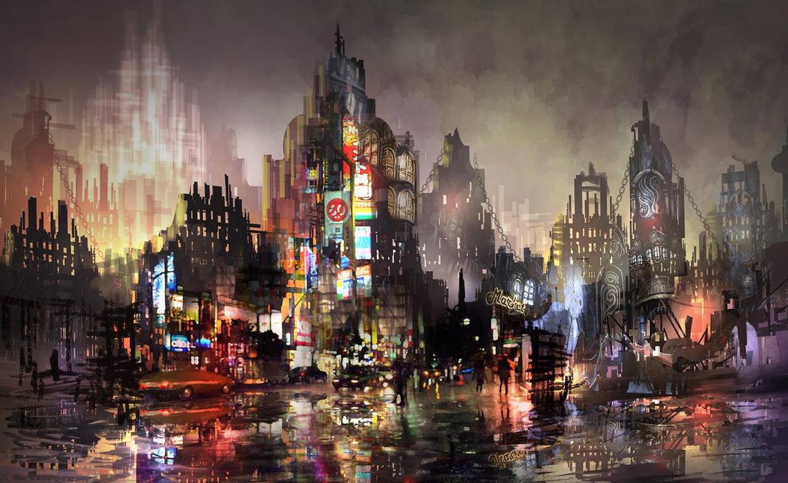 Apocalypse Town by madeincg