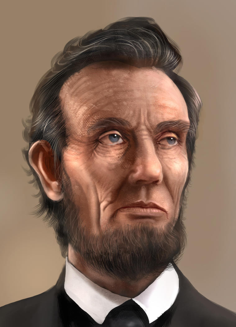 Abraham Lincoln by madeincg