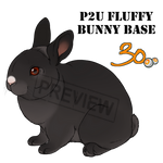 Pay2Use Fluffy Bunny Base 30pts