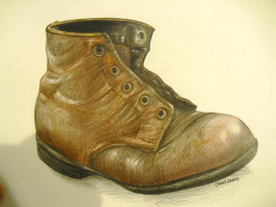 old boot by KCyrulik on DeviantArt