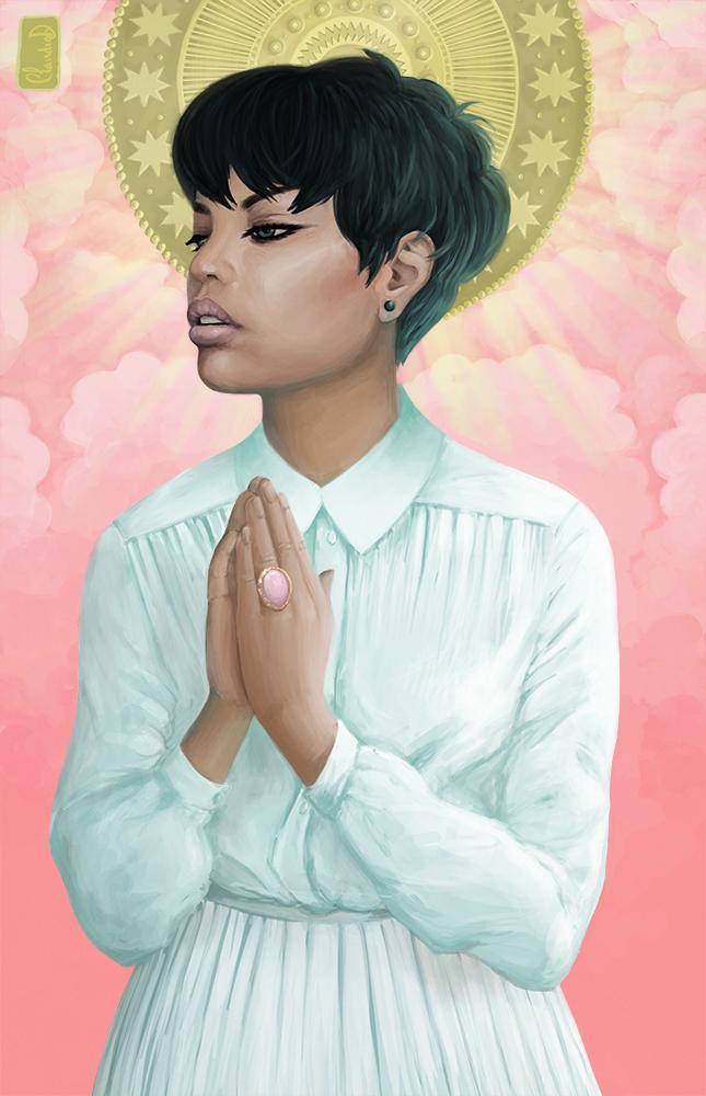 Modern Saint by chockoladien