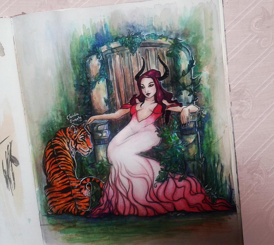 Tiger Pet by chockoladien