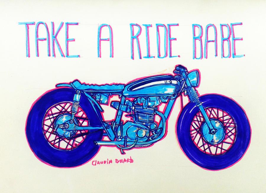 take a ride by chockoladien