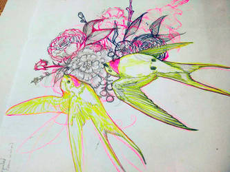 Tattoo Design by chockoladien