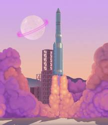 Space X by chockoladien