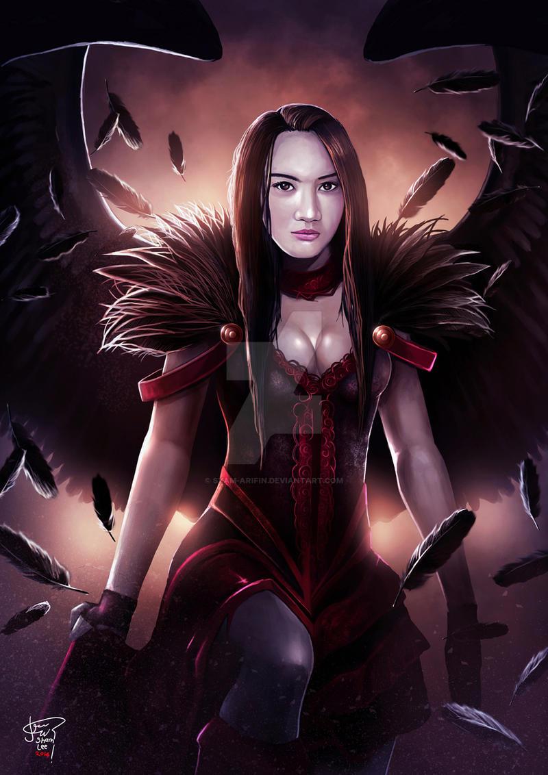 Dark Angel by syam-arifin