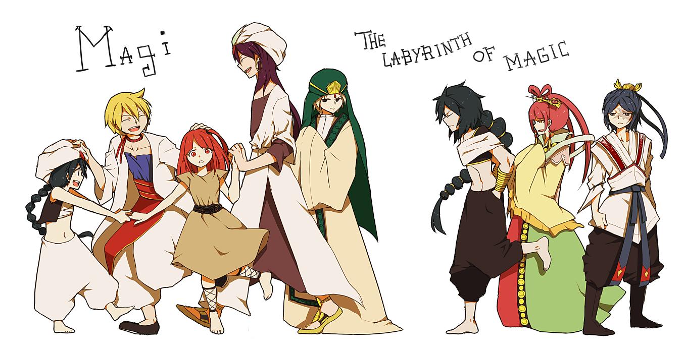 MAGI, the Labyrinth of Magic by Erumi-n