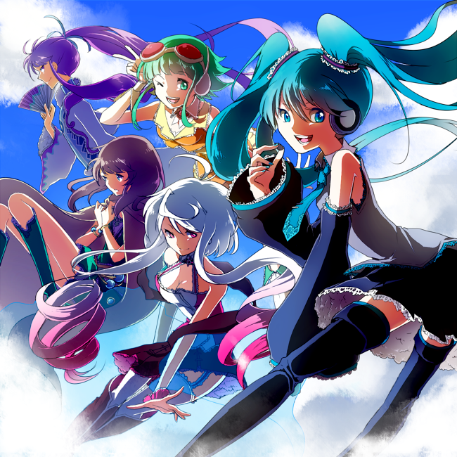 [CD COVER] Vocallective Sampler #1 by Erumi-n