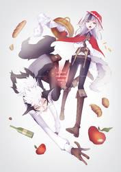 Fire Emblem Fates - Keaton and Velouria