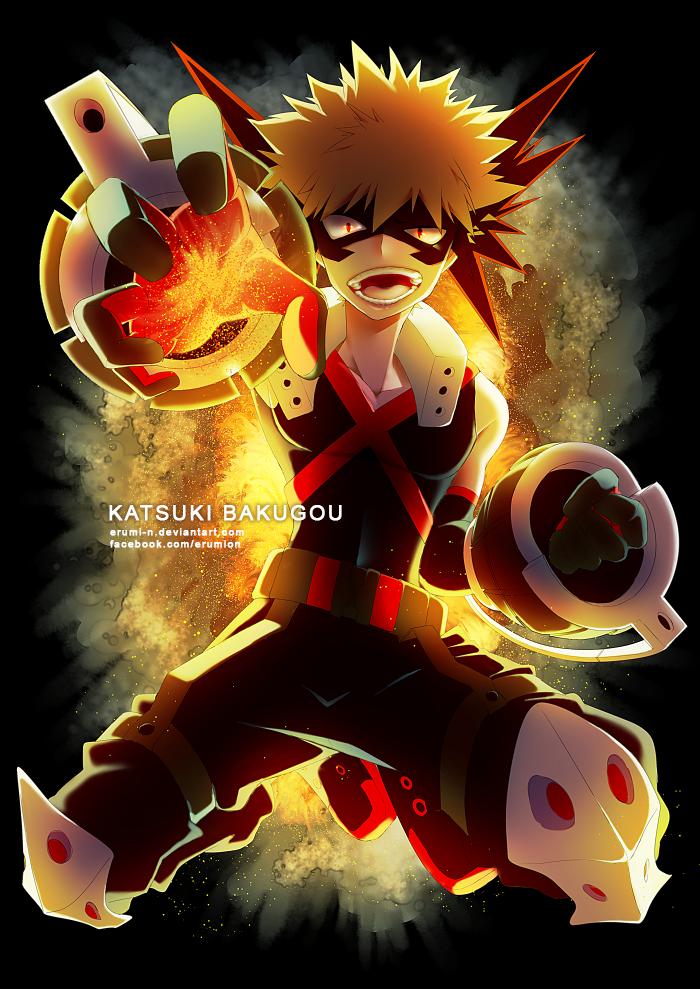 My Hero Academia Katsuki Bakugou By Erumi N On Deviantart