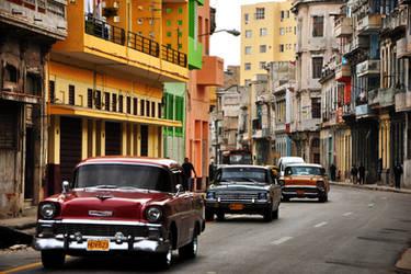 Havana Streets by toztoprak