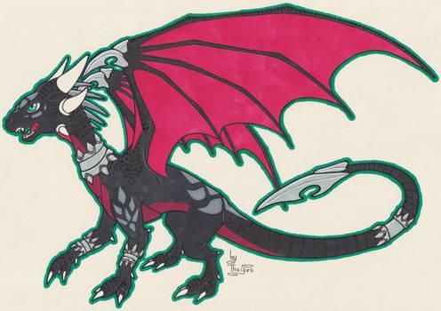 Black Red Wings