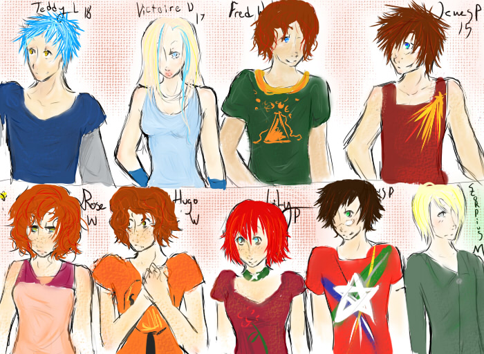 Harry Potter Next Gen. Group by birdswii on DeviantArt