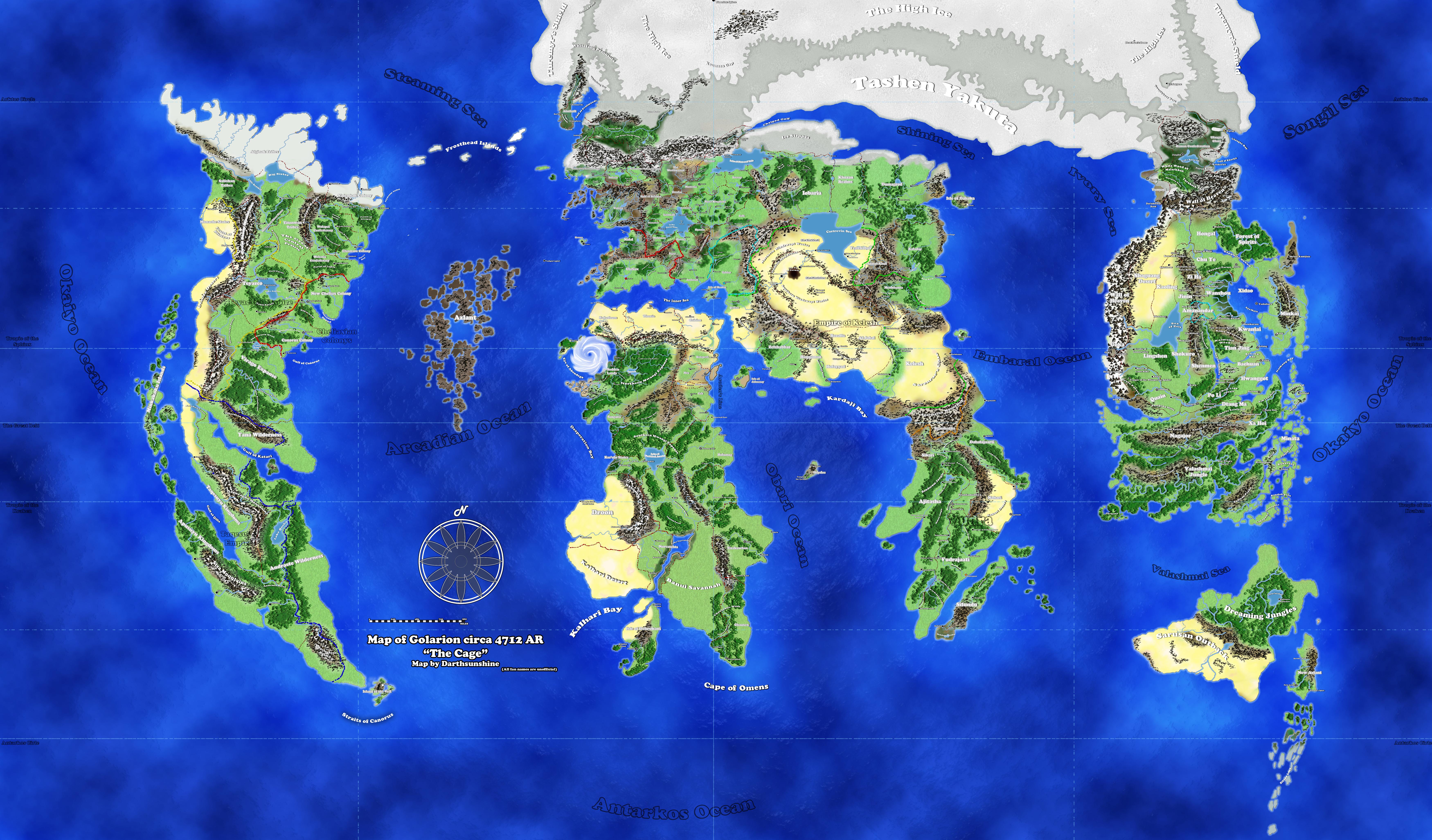 Fan-made Golarion map by DarthSunshine42 on DeviantArt on nirmathas map, darklands map, crypt of the everflame map, rust island map, tian xia map, rpg map, greyhawk map, mystara map, zakhara map, pathfinder map, toril map, magnimar map, elsir vale map, absalom map, inner sea map, ustalav map, varisia map, cerilia map, dragonlance world map, river kingdoms map,