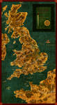 Homebrew Arthurian era Britannia Map