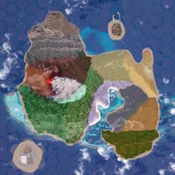 Ferrel Academy Island Map