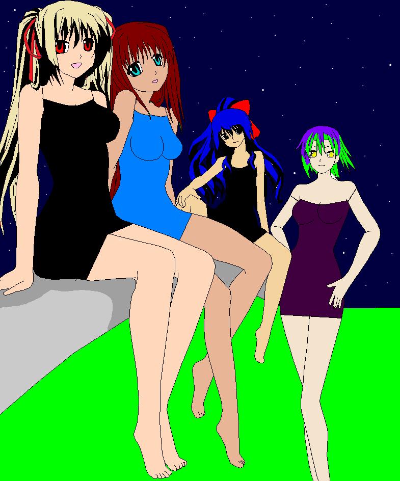 Girls night out by djpaulydfan1