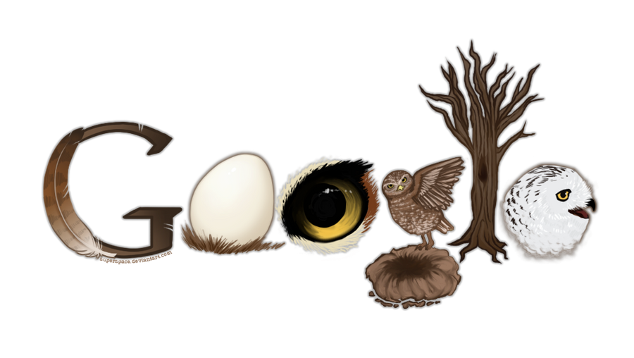 Google logo owls by superspace on deviantart