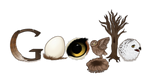 Google Logo - Owls