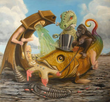 Time desecrates the fossil record by sgibb