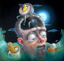 The slow drip of a self-destructive nature by sgibb